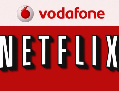 Vodafone Televisión: El primer operador con Netflix en España