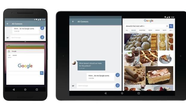 android pantalla multitarea